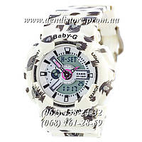 Часы Casio Baby G  BA-110 White-Fl