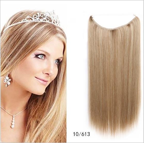 Накладне волосся на волосіні,трес