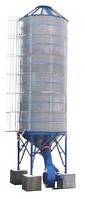 Охладитель зерна бункер вентилируемый ОБВ-40
