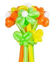 Букет из шаров «Летний» 11 цветов из шаров