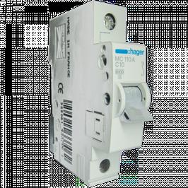 Одно полюсные автоматические выключатели Hager