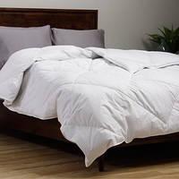 Одеяло двуспальное, 100% овечья шерсть 180х210