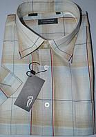 Рубашка с коротким рукавом 100% лен (размер 39.40.41), фото 1