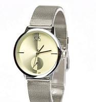 Часы женские Calvin Klein кварцевые, серебристые