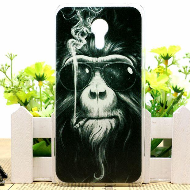 Силіконовий чохол накладка для Meizu Pro 6 з картинкою мавпа
