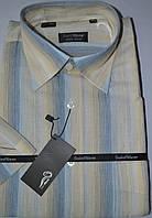 Рубашка с коротким рукавом 100% лен  (40 размер), фото 1