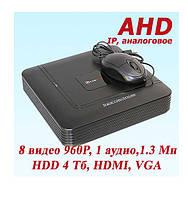 AHD Видеорегистратор DVR-6604T PoliceCam 4 канала