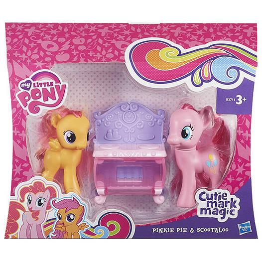 My Little Pony поні Пінкі Пай і Скуталу (PINKIE PIE & SCOOTALOO) серія Cutie Mark Magic