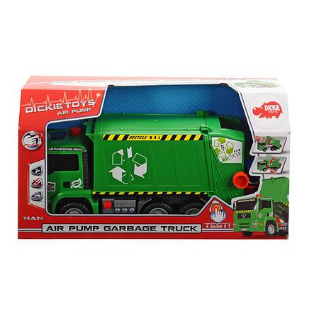Мусоровоз с воздушной помпой и мусорным контейнером, 31 см «Dickie Toys» (3805000), фото 2