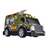 """Игрушечные машинки и техника «Dickie Toys» (3308364) бронированный военный грузовик """"Armor Truck"""", 33 см"""