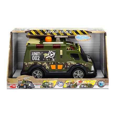 """Игрушечные машинки и техника «Dickie Toys» (3308364) бронированный военный грузовик """"Armor Truck"""", 33 см, фото 2"""