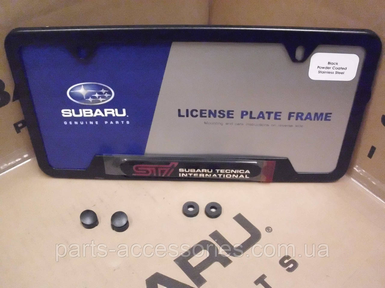 Subaru Impreza STI 1993-15 планка табличка під номер США нова оригінал