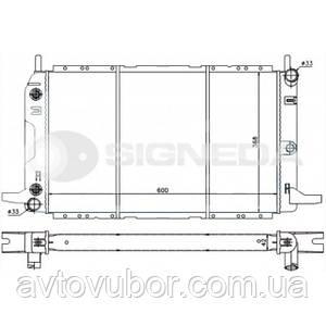 Радиатор основной Ford Scorpio 92-94 RA62229Q 1630716
