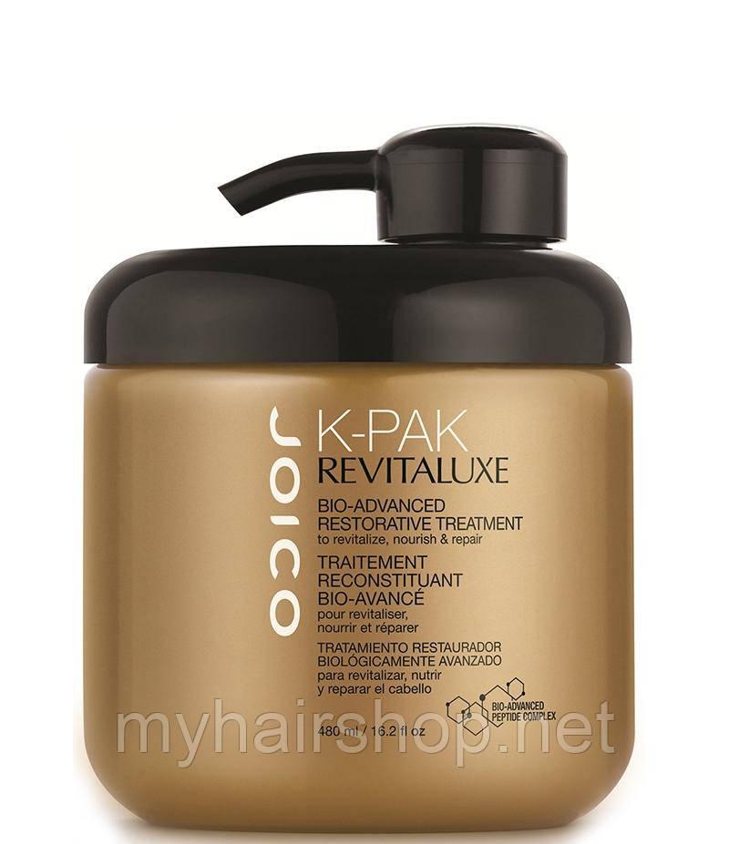 Био-маска для восстановления структуры волос  Joico K-Pak Revitaluxe Bio-Advanced Restorative Treatment 480мл