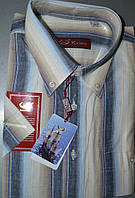 Рубашка с коротким рукавом 80% хлопок (размеры 38.39.41.42.43)