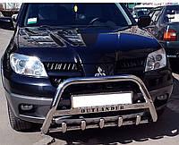 Кенгурятник WT на Mitsubishi Outlander (2003-2006) Митсубиси Аутлендер PRS