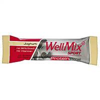 """WellMix Sport  Protein Riegel """"Joghurt"""" - ПРОТЕИНОВЫЙ БАТОНЧИК С ВКУСОМ йогурта, 45 г"""
