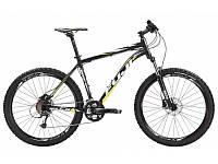 """Горный велосипед Fuji Nevada 1.3 чёрный/жёлтый 23"""" (Gt 15)"""