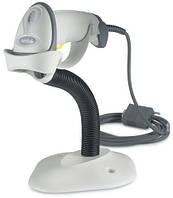 Сканер для штрих кодов Motorola LS 2208 лазерный с подставкой