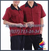 Брюки и рубашки с коротким рукавом под заказ (от 50 шт.) с НДС