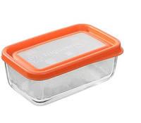 Емкость для хранения продуктов bormioli rocco frigoverre fun 21х13 system апельсин (335160mv9321990)