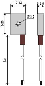 Термоперетворювач ТСМ204, ТСП204, ТХА204, ТХК204, ТЖК204