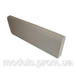 Поребрик вибролитой бетонный 50*200*500