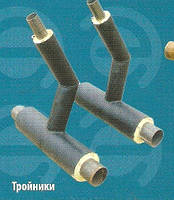 Трубы теплоизолированные вспененным полиуретаном