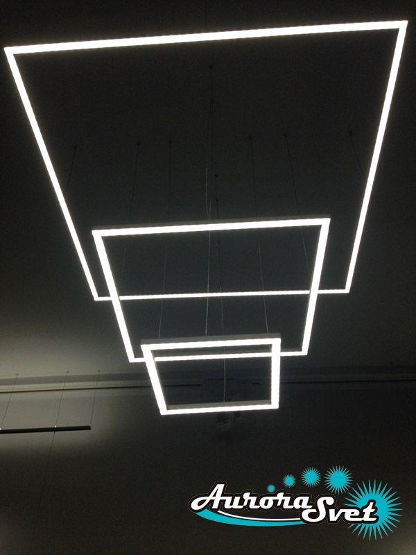 потолочный подвесной светильник