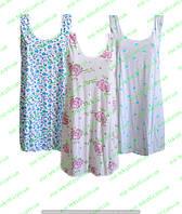 """Женскя ночная рубашка """"Бабушкина"""" сорочка х/б"""