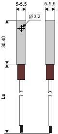 Термопреобразователь ТСМ205, ТСП205, ТХА205, ТХК205, ТЖК205