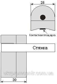 Термопреобразователь ТСМ207, ТСП207, ТХА207, ТХК207, ТЖК207