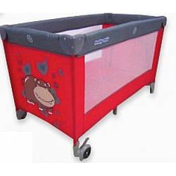 Манеж-кровать Baby Mix HR-8052-133, красный