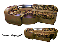 """Мягкий угловой раскладной диван """"Корадо"""""""