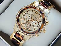Часы Michael Kors леопардовые с рабочими циферблатами