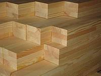 Брус сосновый- 50×50мм