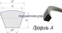 Ремень приводной клиновой -13/A 1990 (A77) DELTA Gates