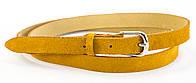 Женский тонкий кожаный ремешок (100608)