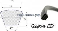 Ремінь приводний клиновий -17/B 2500 Fenner/TOP DRIVE