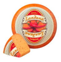 "Сыр «LANDANA» CHILI-SAMBAL  ""красный перец"""