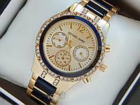 Часы Mihael Kors на комбинированном браслете