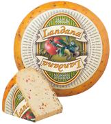 "Сыр «LANDANA» OLIVEN and TOMATEN  ""томаты и оливки"""