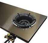 Стол производственный с газовой горелкой WOK из нержавеющей стали, фото 2
