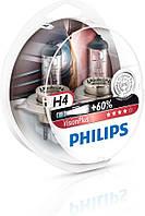 Галогенные лампы Philips VisionPlus H4 12V (12342VPS2)