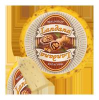 "Сыр «LANDANA» WALNUSS  ""орех"""