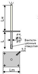 Термоперетворювач ТСМ301, ТСП301, ТХА301, ТХК301, ТЖК301