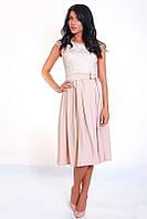 Оригинальное женское платье с пышной юбкой, фото 1