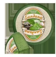 "Сыр «LANDANA» GRUNES PESTO  ""зеленый базилик"""