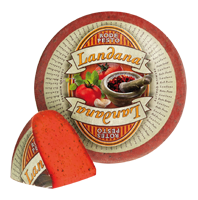 "Сыр «LANDANA» ROTES PESTO  ""красный базилик"""