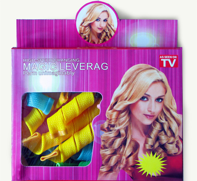 Спиральные бигуди для волос Magic Leverage - волшебные локоны